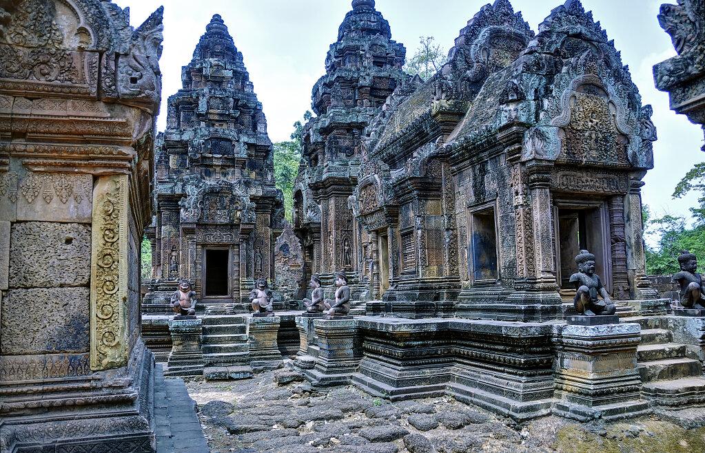 kambodscha - tempel von anghor -  banteay srei (19)