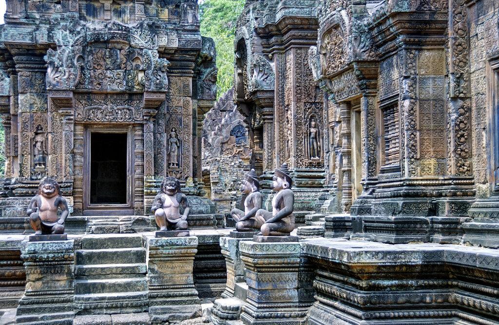 kambodscha - tempel von anghor -  banteay srei (23)