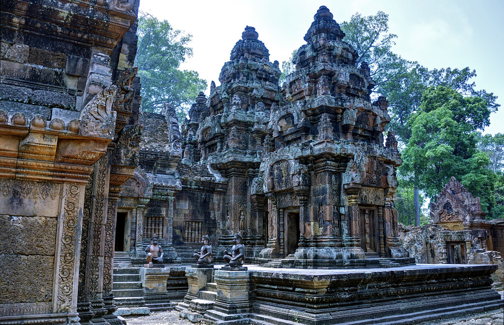 kambodscha - tempel von anghor -  banteay srei (28)