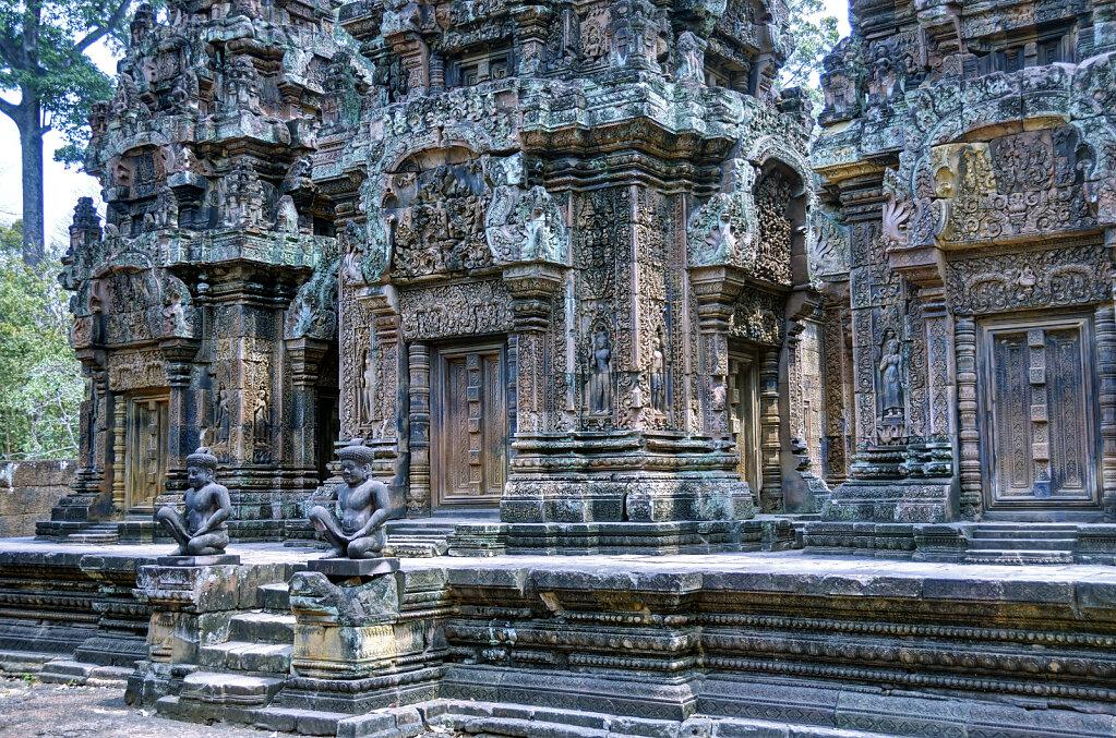 kambodscha - tempel von anghor -  banteay srei (34)